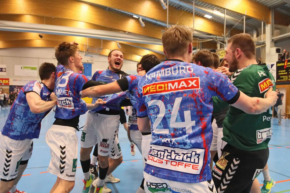 3 Liga Nord Wir Sind Meister Handball Sport Verein Hamburg
