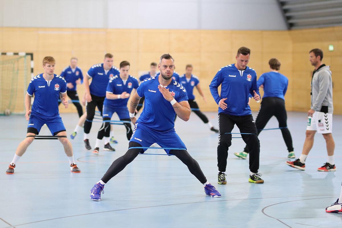Spielzeit Handball